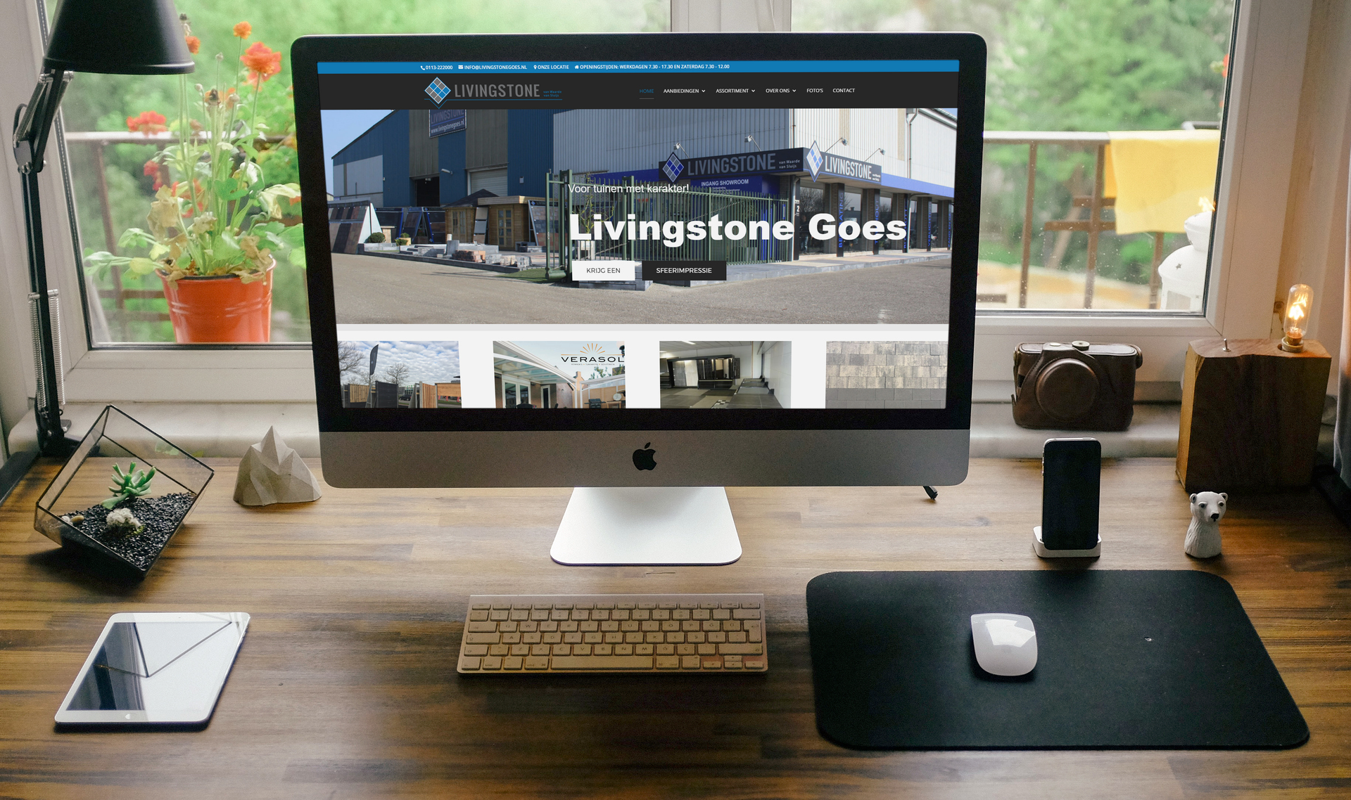 website Livingstone Goes
