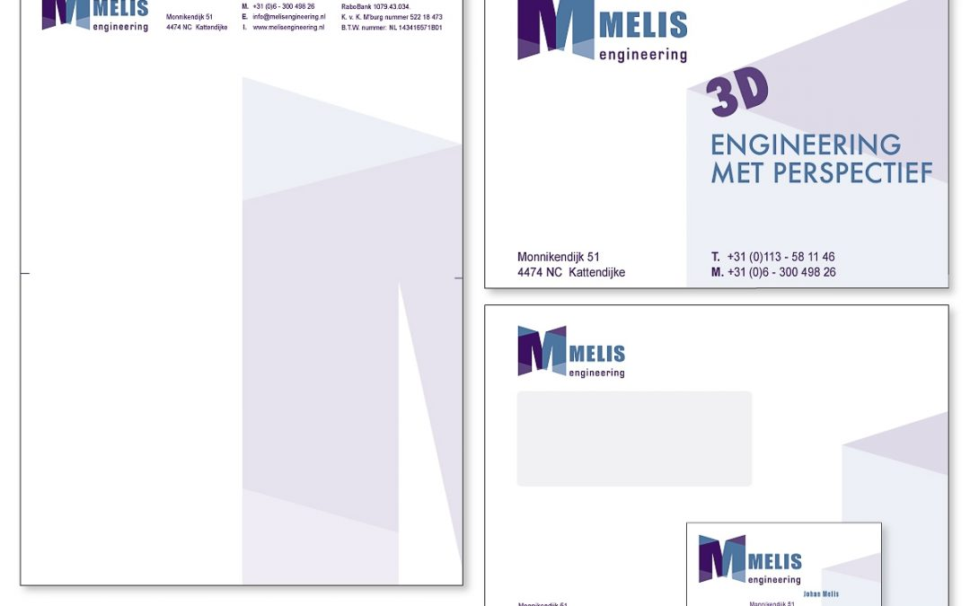 Huisstijl Melis Engineering