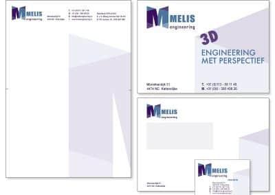 Huisstijl Melis Engineering