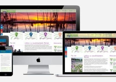 Website Landschapspark Borsele