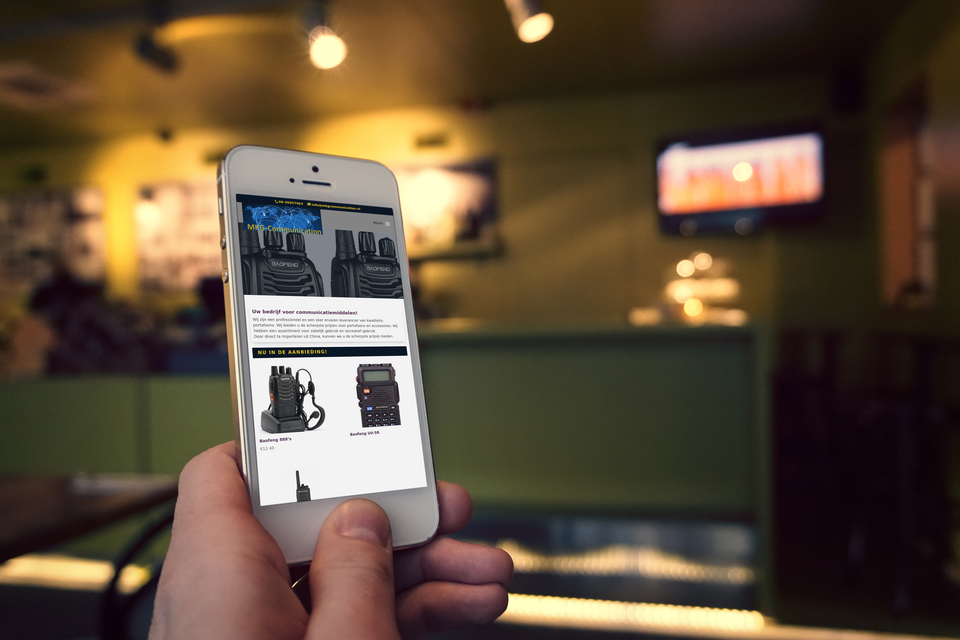 Webshop MKG Communication
