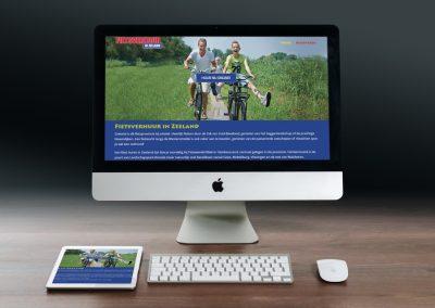 Website Fietsverhuur in Zeeland