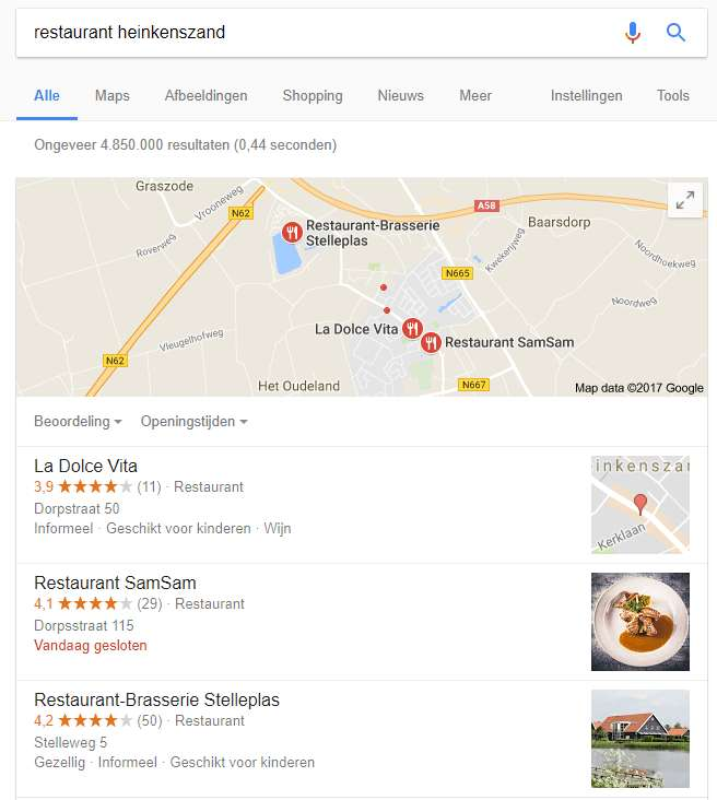 Waarom Google Local Search belangrijk is