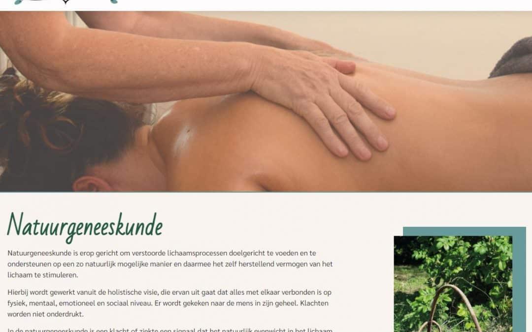 Website en logo Herbaveda