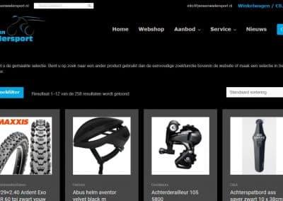Webshop Jansen Wielersport