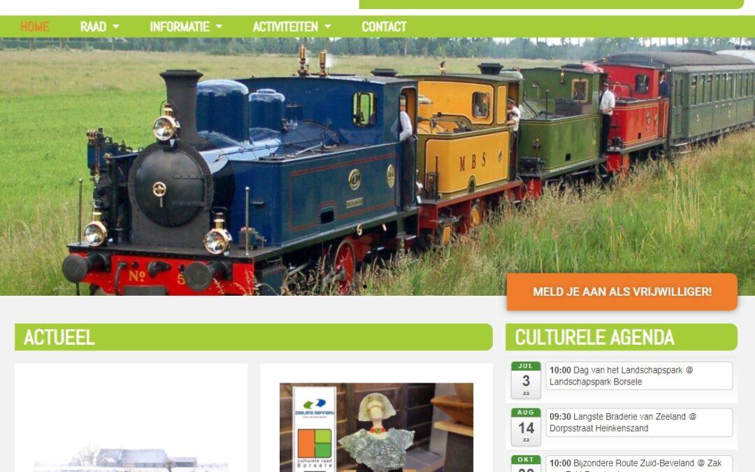 Website Culturele Raad Borsele