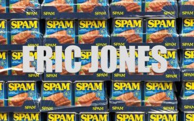 Eric Jones spam, heb je er ook last van?
